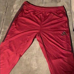 Maroon Adidas Joggers